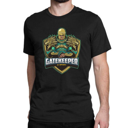 Gatekeeper Classic T-shirt Designed By Estore