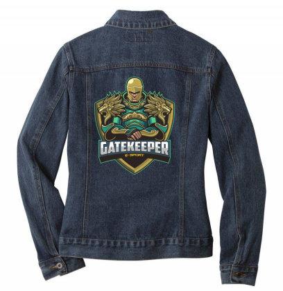 Gatekeeper Ladies Denim Jacket Designed By Estore