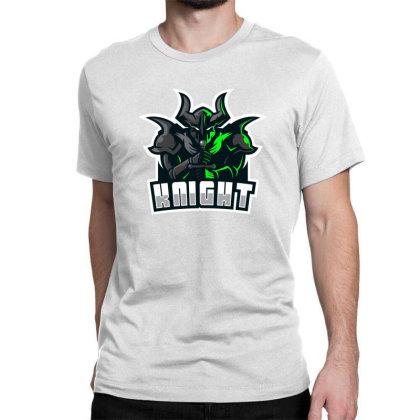Knight Classic T-shirt Designed By Estore