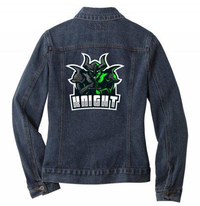 Knight Ladies Denim Jacket Designed By Estore