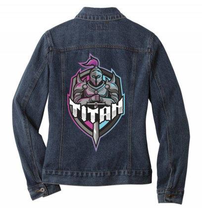 Titan Ladies Denim Jacket Designed By Estore