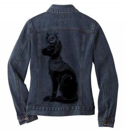 Cat Ladies Denim Jacket Designed By Estore