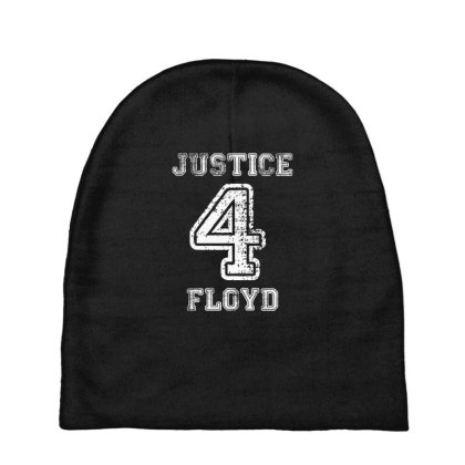Justice For Floyd Baby Beanies Designed By Uptosign
