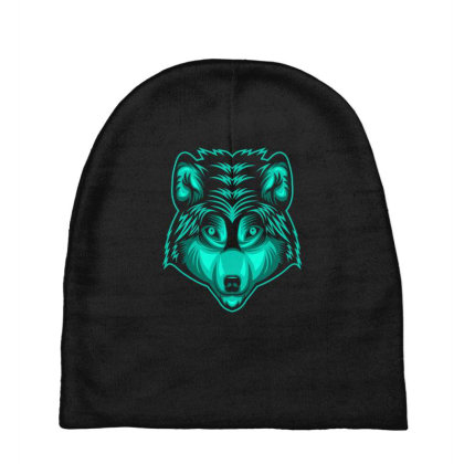 Wolf Baby Beanies Designed By Estore