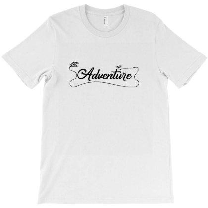 Adventure Handwritten Typography T-shirt Designed By Wd650