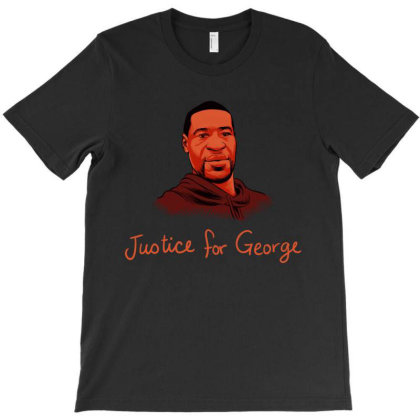 Justice For George Floyd T-shirt Designed By Mazikos