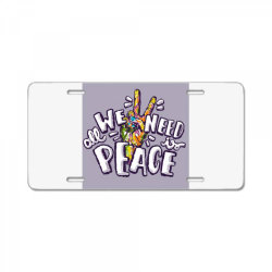 All we need is peace License Plate | Artistshot