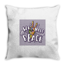All we need is peace Throw Pillow | Artistshot