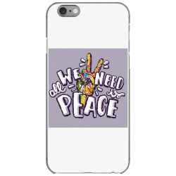 All we need is peace iPhone 6/6s Case | Artistshot