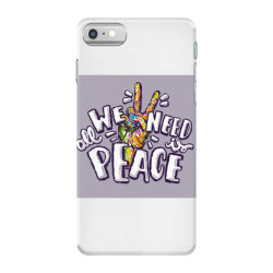 All we need is peace iPhone 7 Case | Artistshot