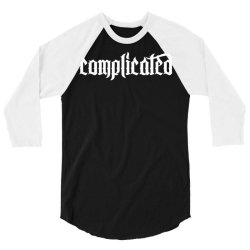 complicated weird strange 3/4 Sleeve Shirt | Artistshot
