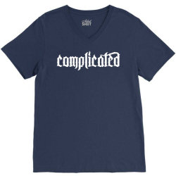 complicated weird strange V-Neck Tee | Artistshot