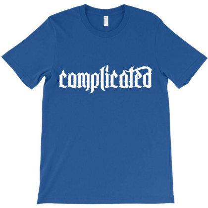 Complicated Weird Strange T-shirt Designed By Designisfun