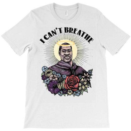 I Can't Breathe George Floyd T-shirt Designed By Badaudesign