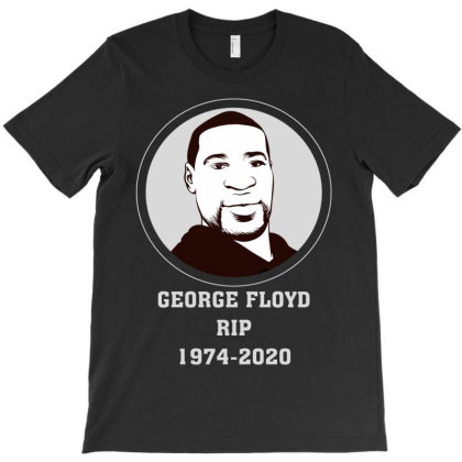 George Floyd T-shirt Designed By Costom