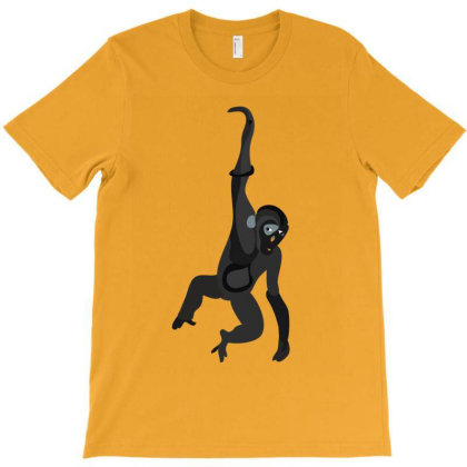 Jumping Monkey T-shirt Designed By Rococodesigns