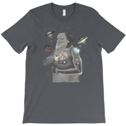 Humanoid T-shirt Designed By Rococodesigns