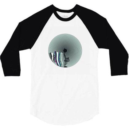 Aqua 3/4 Sleeve Shirt Designed By Disgus_thing