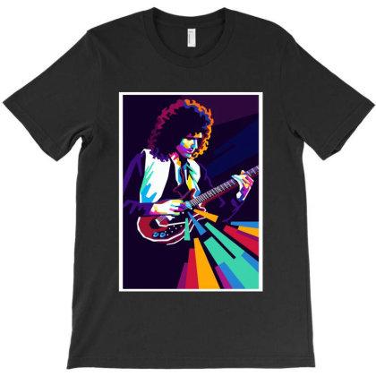Brian May T-shirt Designed By Mazikos