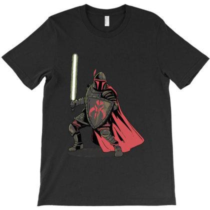 Mandalorian Knight T-shirt Designed By Mazikos