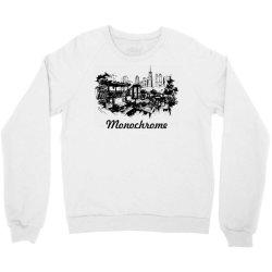 monochrome black white color Crewneck Sweatshirt | Artistshot