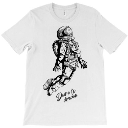 Astronaut Space Stars Dream T-shirt Designed By Designisfun