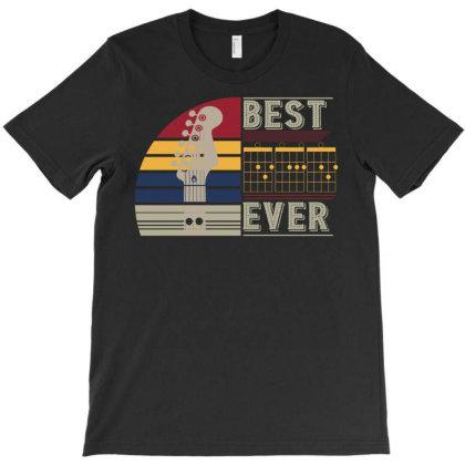 Guitar Dad Best Ever T-shirt Designed By Badaudesign
