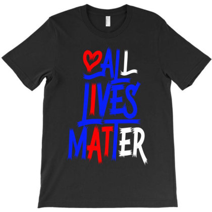 All Lives Matter 2020 Throw Pillow T-shirt Designed By Tiococacola