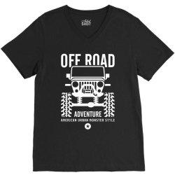 off road offroad adventure urban V-Neck Tee | Artistshot