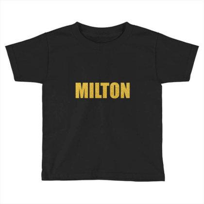 Milton, Quality Shirt, John Milton, Milton Mug, Tank Top, Mask... Toddler T-shirt Designed By Word Power
