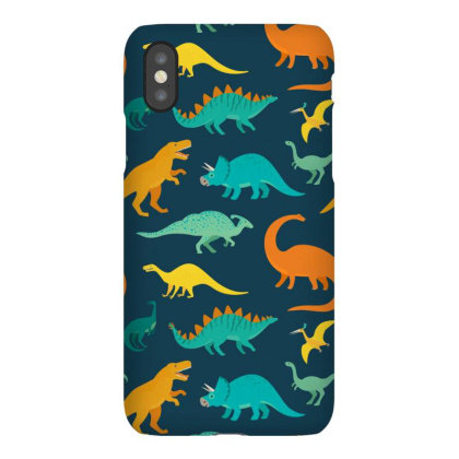 Dinosaur Pattern Iphonex Case Designed By Angelina Bambina