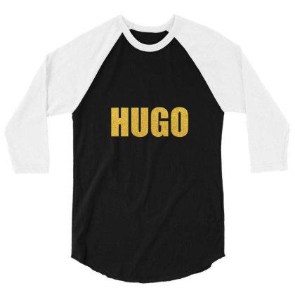 Hugo, Quality Shirt, Hugo Mug, Victor Hugo, Victor Hugo Mask... 3/4 Sleeve Shirt Designed By Word Power