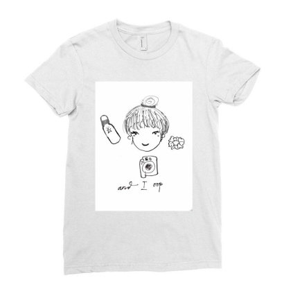 Okky01 Ladies Fitted T-shirt Designed By Okintarin