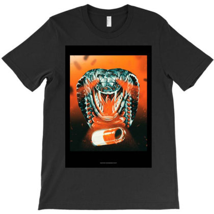 Acid Snake T-shirt Designed By Rfjrt