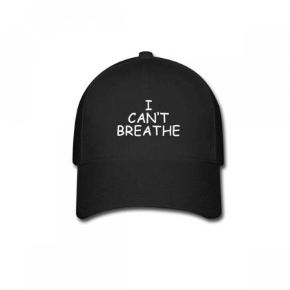 I Can't Breathe Embroidery Baseball Cap Designed By Madhatter