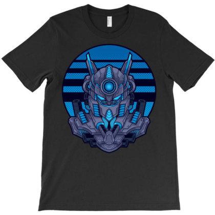 Robot Head T-shirt Designed By Almujaddidi