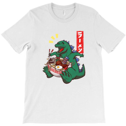 Ramen Dragon T-shirt Designed By Mazikos