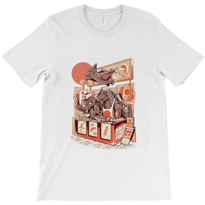 Kaiju Ramen T-shirt Designed By Mazikos
