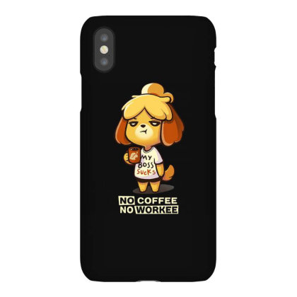 Isabelle Coffee Iphonex Case Designed By Flatcher