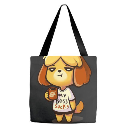 Isabelle Coffee Tote Bags Designed By Flatcher