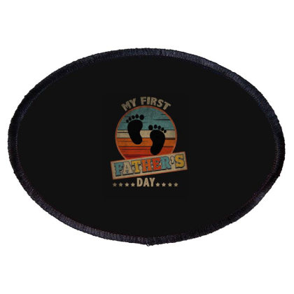 Father's Day, Daddy, Dad Oval Patch Designed By Cuser2870