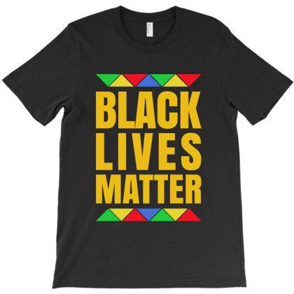 Black Lives Matter Pride T-shirt Designed By Helloshop