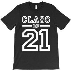Class Of 2021 - Senior Graduation School T-shirt Designed By Cidolopez