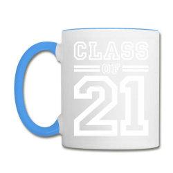 Class Of 2021 - Senior Graduation School Coffee Mug Designed By Cidolopez