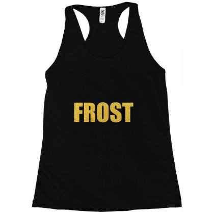 Frost, Quality Shirt, Frost Mug, Robert Frost, Robert Frost Mask... Racerback Tank Designed By Word Power