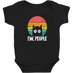 Ew People Funny Cat Baby Bodysuit Designed By Chris299