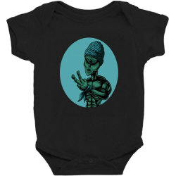 Alien Rap Funny Baby Bodysuit Designed By Chris299