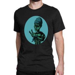 Alien Rap Funny Classic T-shirt Designed By Chris299