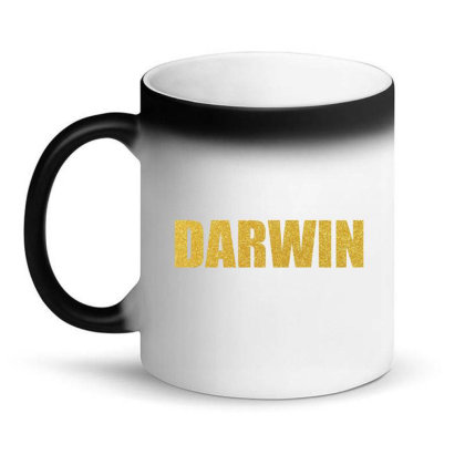 Darwin Shirt, Darwin Mug, Bronte Gifts, Charles Robert Darwin... Magic Mug Designed By Word Power