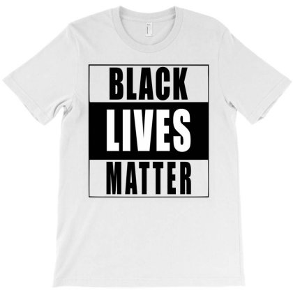 Black Lives Matter - Black T-shirt Designed By Meza Design